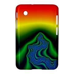 Fractal Wallpaper Water And Fire Samsung Galaxy Tab 2 (7 ) P3100 Hardshell Case