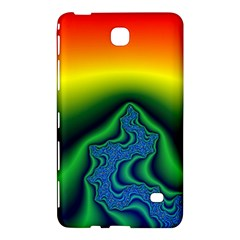 Fractal Wallpaper Water And Fire Samsung Galaxy Tab 4 (7 ) Hardshell Case  by Amaryn4rt