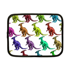 Multicolor Dinosaur Background Netbook Case (small)  by Amaryn4rt