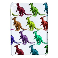 Multicolor Dinosaur Background Apple Ipad Mini Hardshell Case by Amaryn4rt