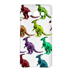 Multicolor Dinosaur Background Samsung Galaxy A5 Hardshell Case  by Amaryn4rt