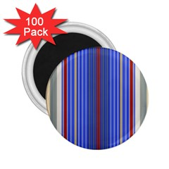 Colorful Stripes Background 2 25  Magnets (100 Pack)  by Amaryn4rt