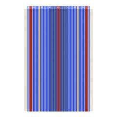 Colorful Stripes Background Shower Curtain 48  X 72  (small)  by Amaryn4rt