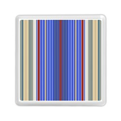 Colorful Stripes Background Memory Card Reader (square)  by Amaryn4rt