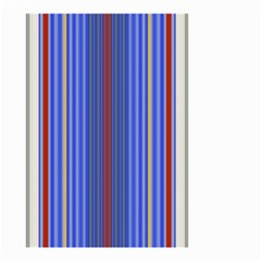 Colorful Stripes Background Small Garden Flag (two Sides)