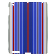 Colorful Stripes Background Apple Ipad 3/4 Hardshell Case by Amaryn4rt