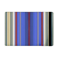 Colorful Stripes Background Apple Ipad Mini Flip Case by Amaryn4rt