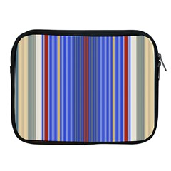 Colorful Stripes Background Apple Ipad 2/3/4 Zipper Cases