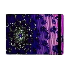 Blue Digital Fractal Apple Ipad Mini Flip Case by Amaryn4rt