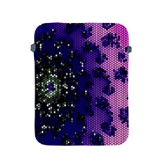 Blue Digital Fractal Apple Ipad 2/3/4 Protective Soft Cases by Amaryn4rt