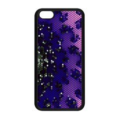 Blue Digital Fractal Apple Iphone 5c Seamless Case (black) by Amaryn4rt