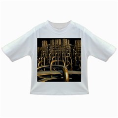 Fractal Image Of Copper Pipes Infant/toddler T Shirts