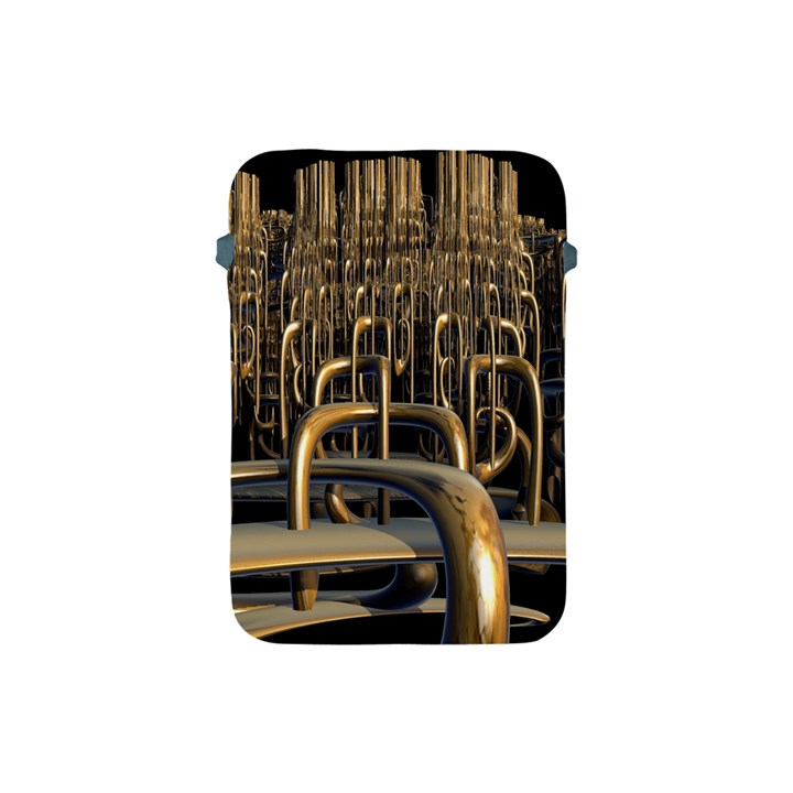 Fractal Image Of Copper Pipes Apple iPad Mini Protective Soft Cases