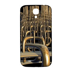 Fractal Image Of Copper Pipes Samsung Galaxy S4 I9500/i9505  Hardshell Back Case by Amaryn4rt