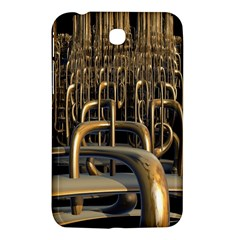 Fractal Image Of Copper Pipes Samsung Galaxy Tab 3 (7 ) P3200 Hardshell Case  by Amaryn4rt