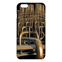 Fractal Image Of Copper Pipes Iphone 6 Plus/6s Plus Tpu Case by Amaryn4rt