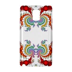 Fractal Kaleidoscope Of A Dragon Head Samsung Galaxy Note 4 Hardshell Case by Amaryn4rt