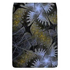 Fractal Wallpaper With Blue Flowers Flap Covers (S)