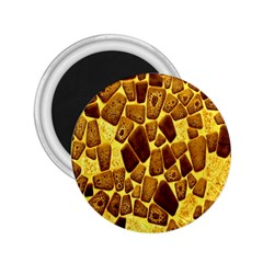 Yellow Cast Background 2 25  Magnets by Amaryn4rt
