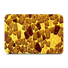 Yellow Cast Background Plate Mats by Amaryn4rt