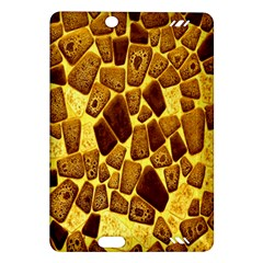 Yellow Cast Background Amazon Kindle Fire Hd (2013) Hardshell Case by Amaryn4rt
