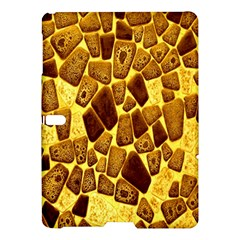 Yellow Cast Background Samsung Galaxy Tab S (10 5 ) Hardshell Case  by Amaryn4rt