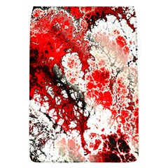 Red Fractal Art Flap Covers (l)  by Amaryn4rt