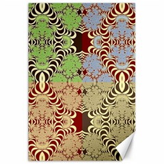 Multicolor Fractal Background Canvas 20  X 30   by Amaryn4rt