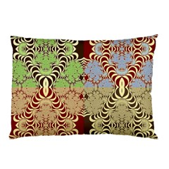 Multicolor Fractal Background Pillow Case (two Sides) by Amaryn4rt