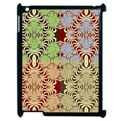 Multicolor Fractal Background Apple Ipad 2 Case (black) by Amaryn4rt