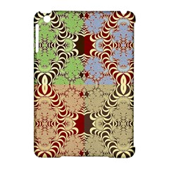 Multicolor Fractal Background Apple Ipad Mini Hardshell Case (compatible With Smart Cover) by Amaryn4rt