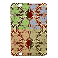 Multicolor Fractal Background Kindle Fire Hd 8 9  by Amaryn4rt