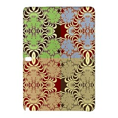 Multicolor Fractal Background Samsung Galaxy Tab Pro 12 2 Hardshell Case by Amaryn4rt