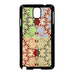 Multicolor Fractal Background Samsung Galaxy Note 3 Neo Hardshell Case (black) by Amaryn4rt