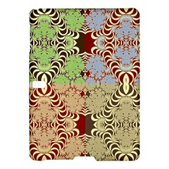 Multicolor Fractal Background Samsung Galaxy Tab S (10 5 ) Hardshell Case  by Amaryn4rt