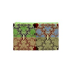 Multicolor Fractal Background Cosmetic Bag (xs) by Amaryn4rt