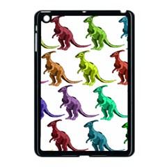 Multicolor Dinosaur Background Apple Ipad Mini Case (black)