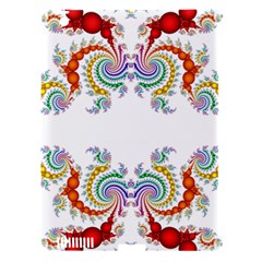 Fractal Kaleidoscope Of A Dragon Head Apple Ipad 3/4 Hardshell Case (compatible With Smart Cover) by Amaryn4rt