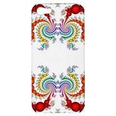 Fractal Kaleidoscope Of A Dragon Head Apple Iphone 5 Hardshell Case by Amaryn4rt