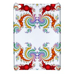 Fractal Kaleidoscope Of A Dragon Head Apple Ipad Mini Hardshell Case by Amaryn4rt
