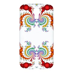 Fractal Kaleidoscope Of A Dragon Head Samsung Galaxy S4 I9500/i9505 Hardshell Case