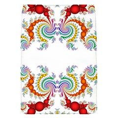 Fractal Kaleidoscope Of A Dragon Head Flap Covers (s)  by Amaryn4rt