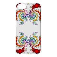 Fractal Kaleidoscope Of A Dragon Head Apple Iphone 5s/ Se Hardshell Case by Amaryn4rt