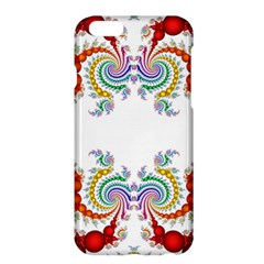 Fractal Kaleidoscope Of A Dragon Head Apple Iphone 6 Plus/6s Plus Hardshell Case by Amaryn4rt