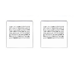 Zodiac Killer  Cufflinks (square) by Valentinaart