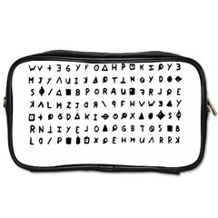 Zodiac Killer  Toiletries Bags by Valentinaart