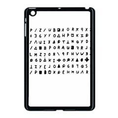 Zodiac Killer  Apple Ipad Mini Case (black) by Valentinaart