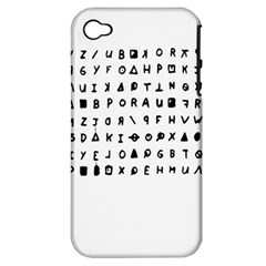 Zodiac Killer  Apple Iphone 4/4s Hardshell Case (pc+silicone) by Valentinaart