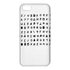 Zodiac Killer  Apple Iphone 5c Hardshell Case by Valentinaart