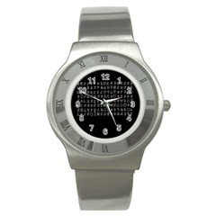Zodiac Killer  Stainless Steel Watch by Valentinaart